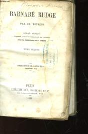 Barnabe Rudge - Tome Second - Couverture - Format classique