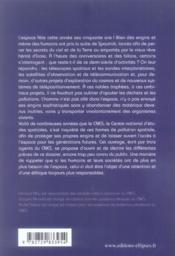 La pollution spatiale sous surveillance - 4ème de couverture - Format classique