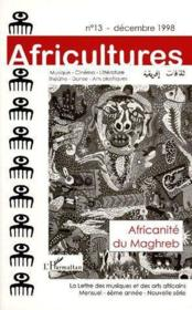 Revue Africultures N.13 ; Africanité Du Maghreb - Couverture - Format classique