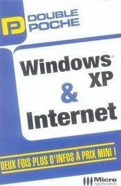 Double Poche ; Windows Xp Et Internet - Intérieur - Format classique
