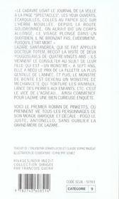 Le Vice De L'Agneau - 4ème de couverture - Format classique