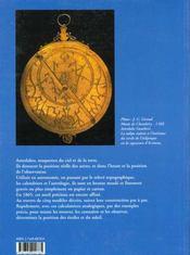 Astrolabes cartes du ciel - 4ème de couverture - Format classique