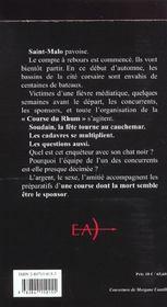 Cadavre A La Barre - 4ème de couverture - Format classique