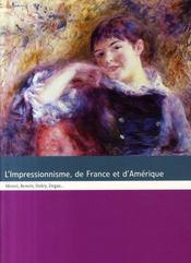 L'impressionnisme de france et d'amérique - Intérieur - Format classique