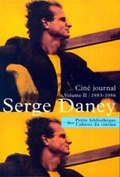 Ciné journal t.2 ; 1983-1986 - Couverture - Format classique