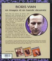 Chansons en BD t.3 ; Boris Bian - 4ème de couverture - Format classique