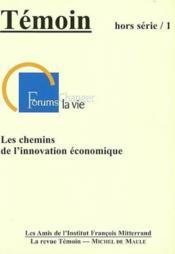 Chemins de l'innovation économique - Couverture - Format classique