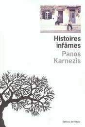 Histoires Infames - Intérieur - Format classique