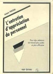 Entretien D'Appreciation - Couverture - Format classique