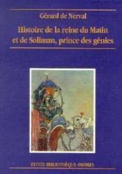 Histoire De La Reine Du Matin - Couverture - Format classique
