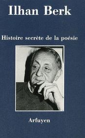 Histoire secrète de la poésie - Couverture - Format classique