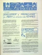 Parisiennes (Les) N°3 du 01/06/1963 - Couverture - Format classique