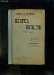 Useful English For All. A Pratical And New Method. - Couverture - Format classique