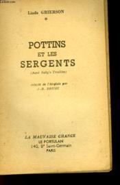 Pottins Et Les Sergents - Aunt Sally'S Troubles - Couverture - Format classique