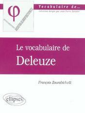 Deleuze - Intérieur - Format classique