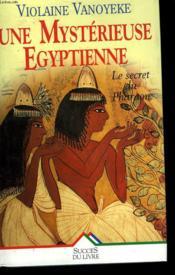 Une Mysterieuse Egyptienne - Couverture - Format classique