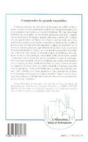 Comprendre Les Grands Ensembles ; Une Exploration Des Representations Et Des Perceptions - 4ème de couverture - Format classique