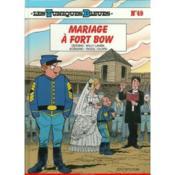 Les tuniques bleues t.49 ; mariage à fort Bow - Couverture - Format classique