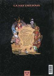La nef des fous t.2 ; pluvior 627 - 4ème de couverture - Format classique