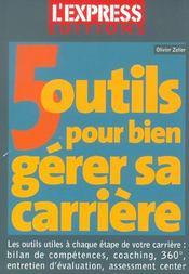 5 Outils Port Bien Gerer Sa Carriere - Intérieur - Format classique