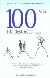 100 vies 100 destinees - Intérieur - Format classique