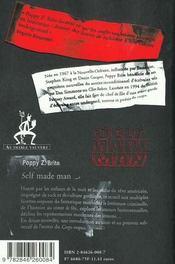 Self made man - 4ème de couverture - Format classique