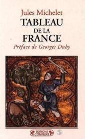 Tableau De La France - Couverture - Format classique