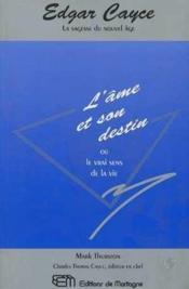 Ame Et Son Destin (L') - Couverture - Format classique