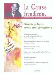Cause Freudienne Numero 62 - Intérieur - Format classique