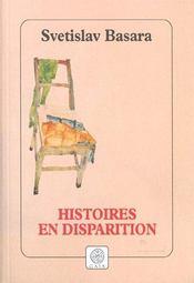 Histoires en disparition - Intérieur - Format classique