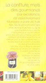 Confitures ; le bonheur est dans le pot - 4ème de couverture - Format classique