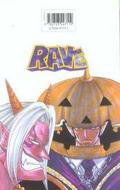 Rave t.13 - 4ème de couverture - Format classique