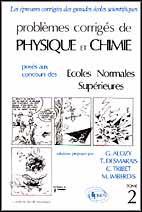 Problemes Corriges De Physique Chimie E.N.S.Tome 2 1984-1989 - Couverture - Format classique