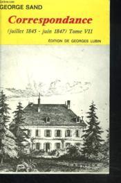 Correspondance T.7 - Couverture - Format classique