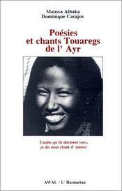 Poésies et chants touaregs de l'Ayr - Intérieur - Format classique