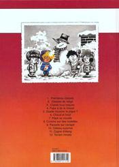 Cédric t.8 ; comme sur des roulettes - 4ème de couverture - Format classique