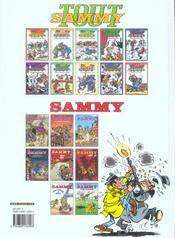 Sammy t.39 ; pépée flingueuse - 4ème de couverture - Format classique