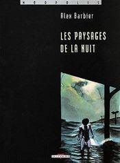 Les Paysages De La Nuit T01 - Couverture - Format classique