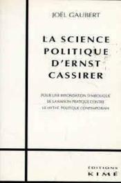 Science Politique D'Ernst Cassirer - Couverture - Format classique