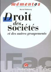Memento Dt Stes Autres Groupe - Couverture - Format classique