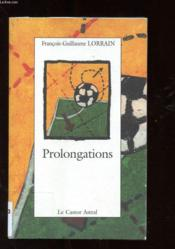 Prolongations - Couverture - Format classique