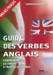 Guide des verbes ; anglais-français - Intérieur - Format classique
