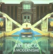 Art déco et modernisme - Couverture - Format classique