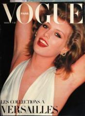 Vogue Paris N°604 du 01/03/1980 - Couverture - Format classique