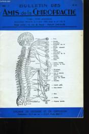 Bulletin Des Amis De La Chiropractie N° 49. - Couverture - Format classique
