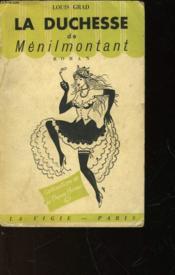 La Duchesse De Menilmontant - Couverture - Format classique