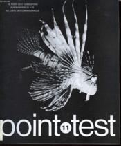 Clefs Des Connaissances - Point Test - N°11 - Couverture - Format classique