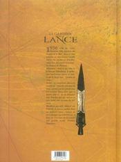 Le gardien de la lance t.4 ; les disques de Phaïstos - 4ème de couverture - Format classique