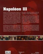 Napoléon III, un empereur visionnaire à réhabiliter - 4ème de couverture - Format classique