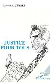 Justice pour tous - Couverture - Format classique